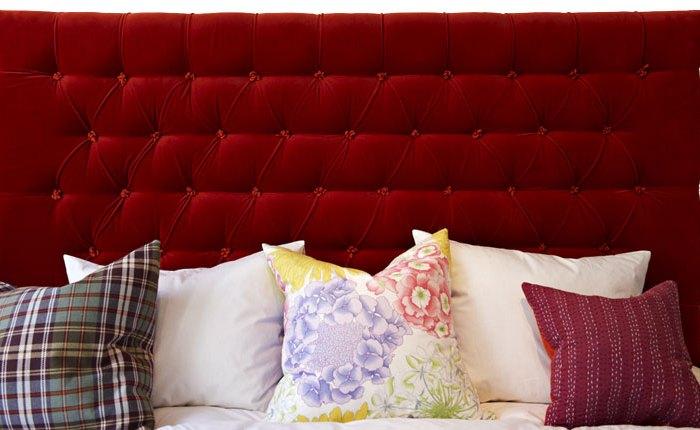 Sänggavlar 105 Cm : Sänggavel exklusiva tygklädda sänggavlar
