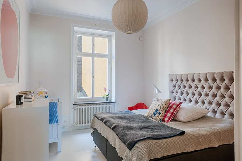 Hemma hos Sänggavel Exklusiva tygklädda sänggavlar