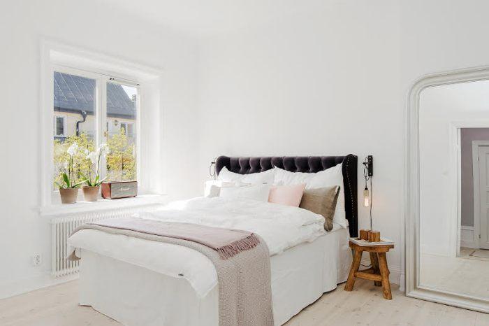 Sänggavel Exklusiva tygklädda sänggavlar